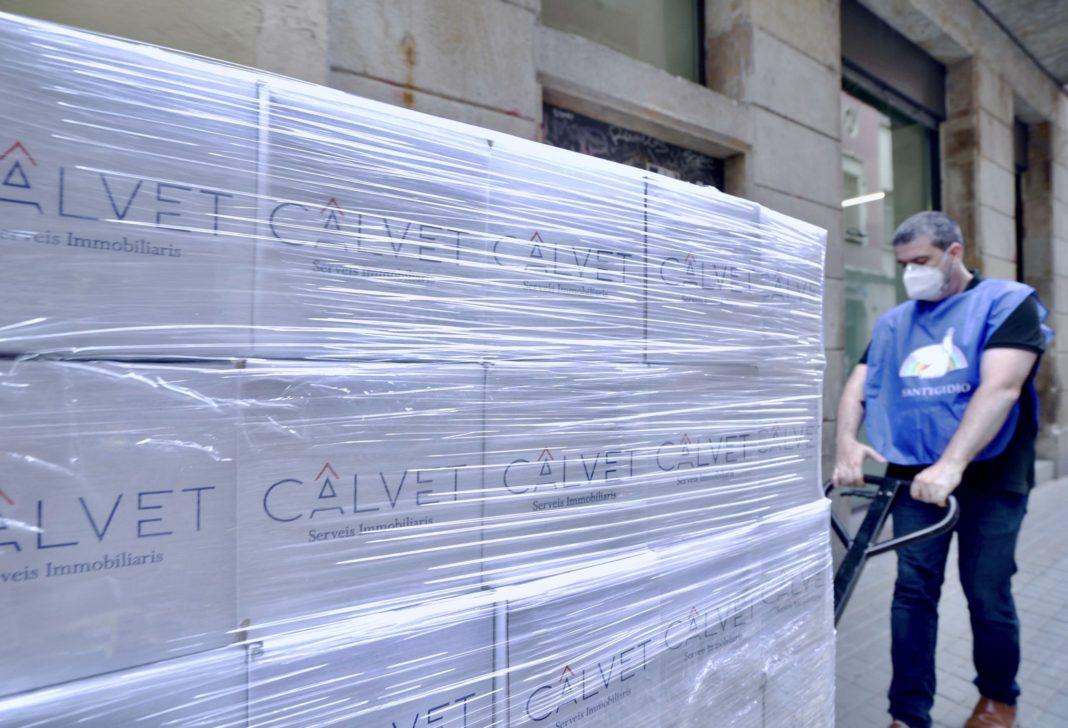 Foto de Campaña Solidaria CALVET- Comunitat Sant