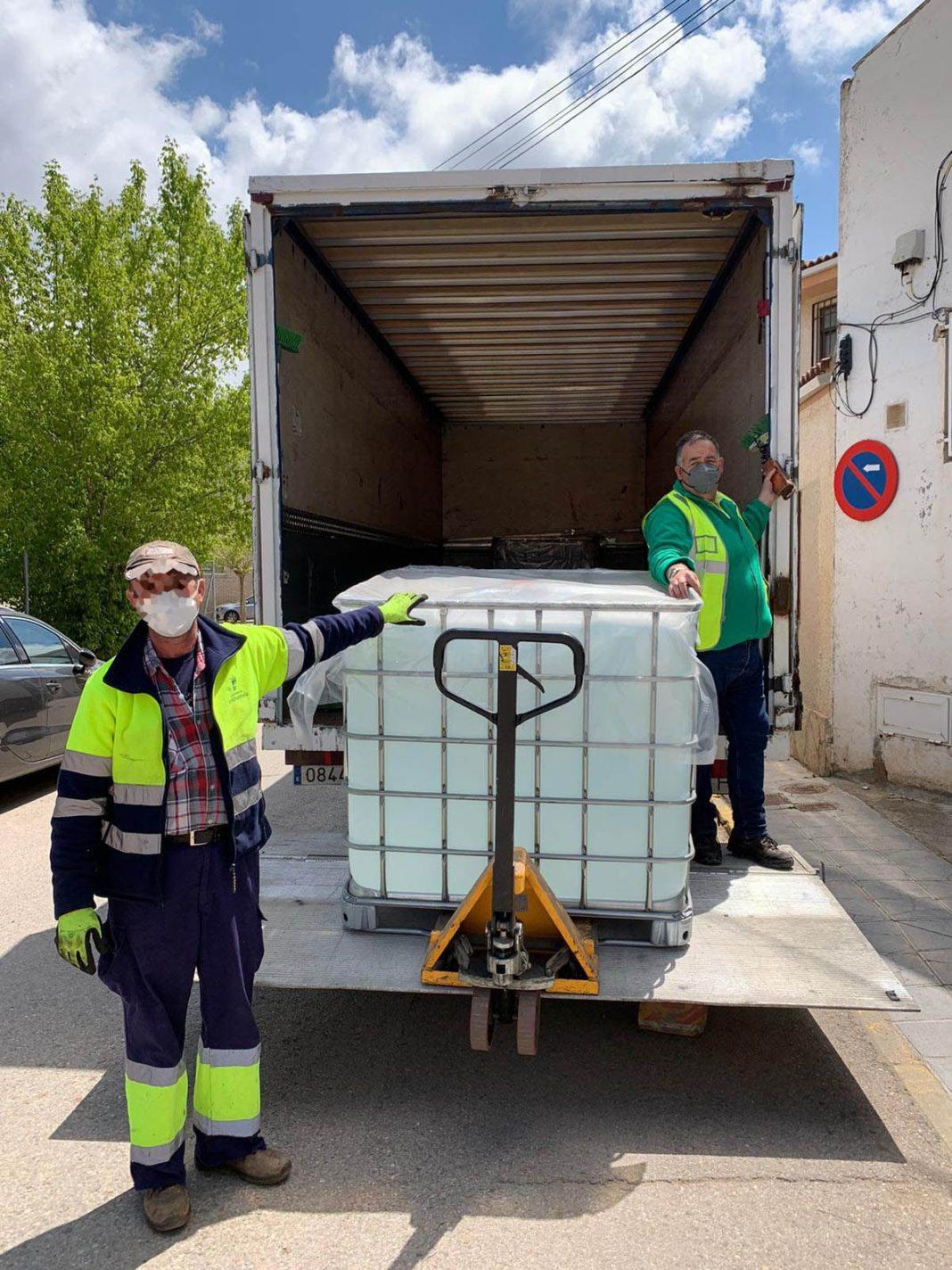 Foto de DESTINA transporta de manera gratuita la donación de 2.4