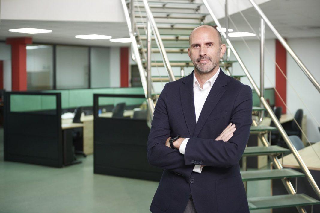 Foto de Jorge Torres, director general, en una de las sedes de Aitana
