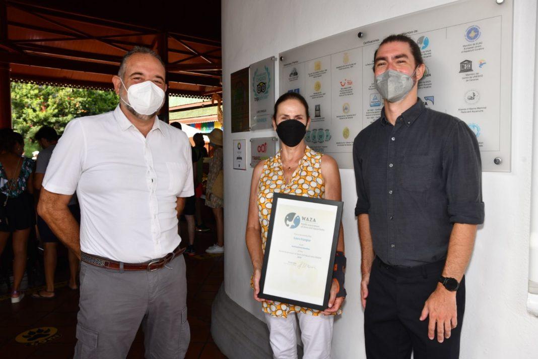 Foto de Martín Zordan, CEO de WAZA, visita Loro Parque