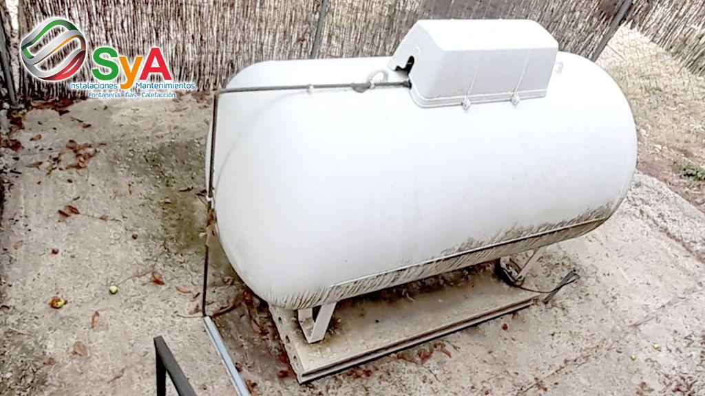 Foto de Depósitos de gas en los hogares